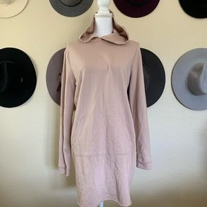 NWOT Forever 21 Hoodie Tunic Dress